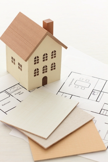 Construction plans for a new house